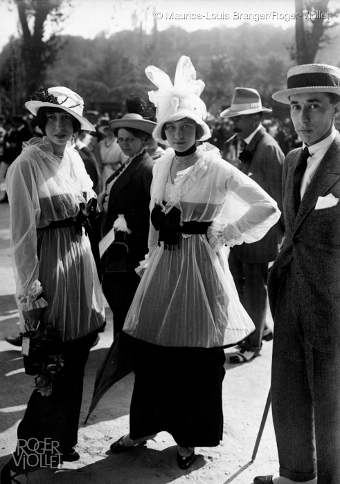 A Day At The Races Pt I Parisian Couture In The Early 1900s European Fashion Heritage Association